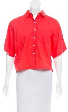 Band Of Outsiders Oversize Button-Up Top