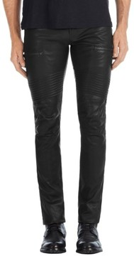 J Brand Men's Acrux Skinny Leg Leather Pants