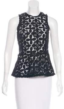 Intermix Sleeveless Lace Top