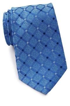 Nautica Scarett Grid Silk Tie