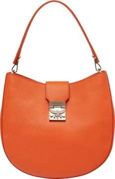 MCM Patricia Hobo In Grained Leather
