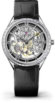 Vacheron Constantin Metiers d'Art 82620000G-9924 Stainless Steel & Leather with Skeleton Dial 37mm Mens Watch