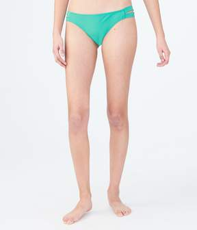 Aeropostale LLD Solid Side-Banded Cheeky Bottom