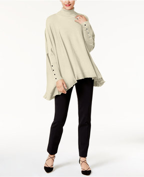 Alfani Turtleneck Poncho, Created for Macy's