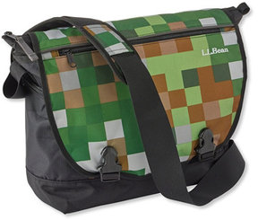 L.L. Bean L.L.Bean Messenger Bag, Print