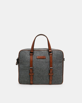 Ted Baker Woolblend document bag