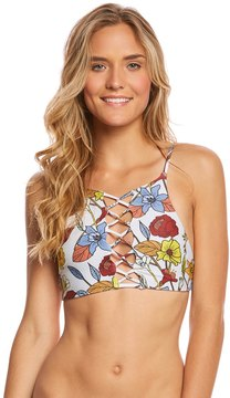 Stone Fox Swim Wild Flowers Iver Bikini Top 8163213