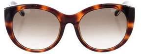 Chloé Tortoiseshell Oversize Sunglasses