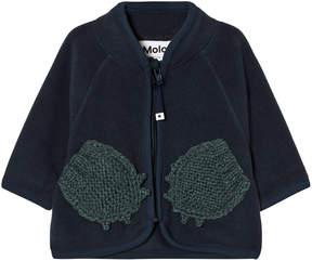 Molo Midnight Navy Umo Fleece Jacket