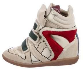 Etoile Isabel Marant Wila Sneaker Wedges