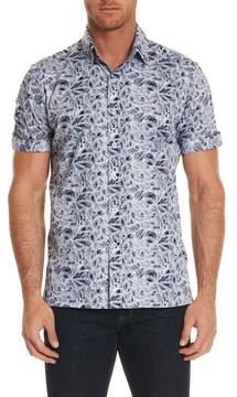 Robert Graham Booker Tailored Fit Print Sport Shirt