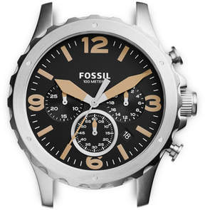 Fossil Nate Chronograph Stainless Steel Case