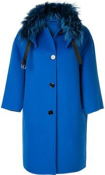 Ermanno Scervino boxy button coat