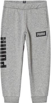 Puma Rebel Sweat Pants Medium Gray Heather