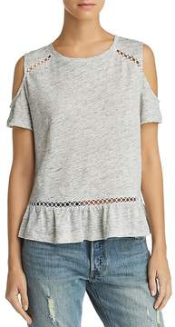 Generation Love Kendi Lace-Inset Cold-Shoulder Tee - 100% Exclusive