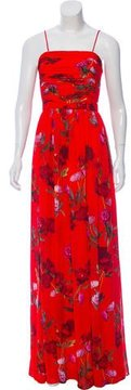 Erin Fetherston Gathered Floral Print Dress w/ Tags