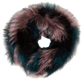 Oscar de la Renta Fox Fur Collar