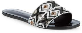Saks Fifth Avenue Women's Beaded Slides