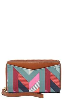 Fossil Caroline Phone Wallet Wristlet - RFID Protection