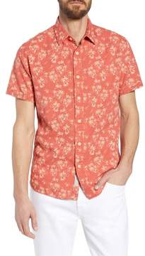 Grayers Red Palm Island Sport Shirt