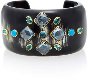 Ashley Pittman Jamii Horn Multi-Stone Bangle