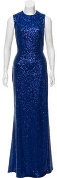 Elie Saab Sleeveless Sequin Gown w/ Tags
