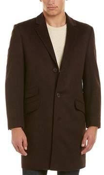 Hart Schaffner Marx Shelby Wool & Cashmere-blend Coat.