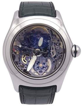 Corum Bubble Skeleton 082.150.20 Stainless Steel Automatic 45mm Mens Watch