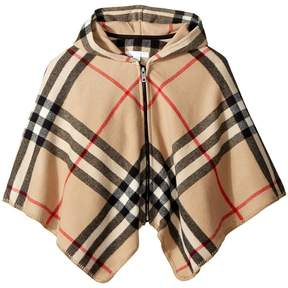 Burberry Vickie Cape Girl's Coat