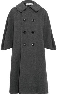 Comme des Garcons Oversized Wool-blend Coat - Gray