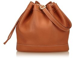 Hermes Pre-owned: Gulliver Leather Market Gm. - BROWN - STYLE