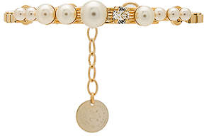 Anton Heunis Cream Pearls Bracelet