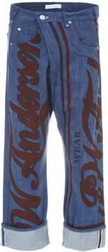 J.W.Anderson Printed Jeans