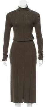 Celine Wool-Blend Maxi Dress