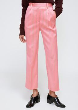Aalto Pink Stripe Tailored Grandpa Trousers