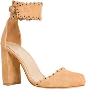 Max Studio heap : soft suede high heel shoes