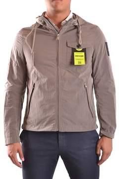 Dekker Men's Beige Polyamide Outerwear Jacket.