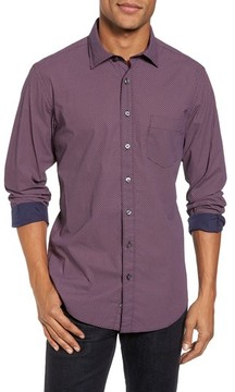 Rodd & Gunn Men's Ingleton Regular Fit Dot Sport Shirt