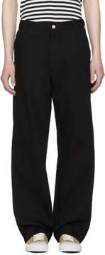 Junya Watanabe Black Carhartt Edition Canvas Trousers
