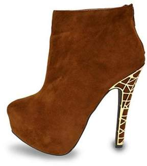 Liliana Amethyst Brown Boots
