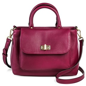 Merona Women's Mini Satchel with Crossbody Strap