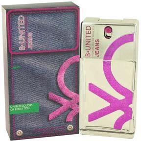 B United Jeans by Benetton Eau De Toilette Spray for Women (3.3 oz)