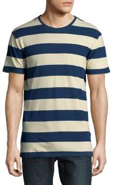 Selected Striped Short-Sleeve Cotton Tee