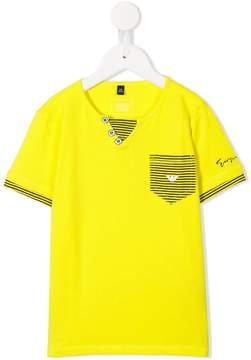 Emporio Armani Kids pocket detail t-shirt