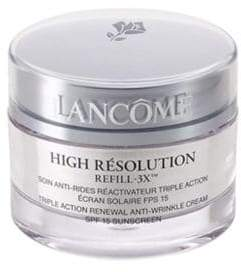 Lancome High Resolution Refill-3X Triple Action Renewal Anti-Wrinkle Cream/1.7 oz.