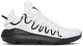 Y-3 White Kusari Boost Sneakers