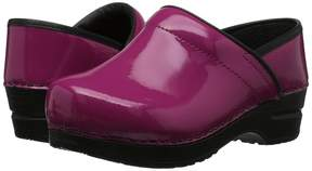 Sanita Professional Patent Women's Clog Shoes