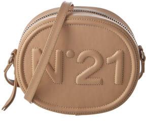 N°21 N21 Logo Leather Tambourine Crossbody