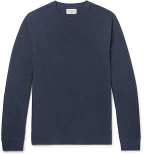 Oliver Spencer Loungewear Textured-Cotton Sweatshirt