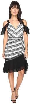 Adelyn Rae Nola Woven Lace Frill Dress Women's Dress